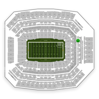 Indianapolis Colts at Lucas Oil Stadium Section 324 View