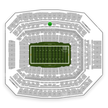 Indianapolis Colts at Lucas Oil Stadium Section 413 View