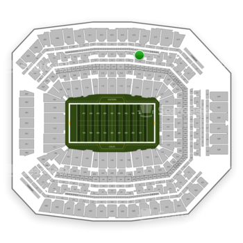 Indianapolis Colts at Lucas Oil Stadium Section 416 View