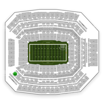 Indianapolis Colts at Lucas Oil Stadium Section 449 View