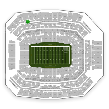 Indianapolis Colts at Lucas Oil Stadium Section 508 View