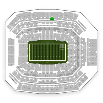 Indianapolis Colts at Lucas Oil Stadium Section 514 View