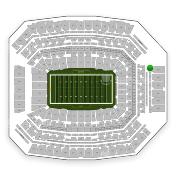 Indianapolis Colts at Lucas Oil Stadium Section 524 View