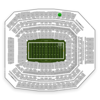 Indianapolis Colts at Lucas Oil Stadium Section 616 View
