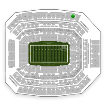 Indianapolis Colts at Lucas Oil Stadium Section 618 View