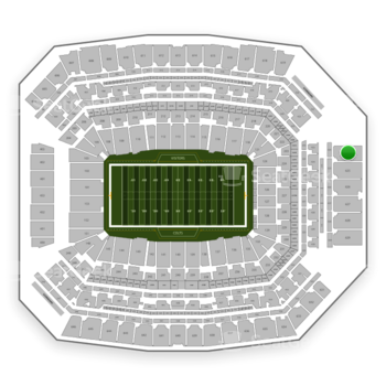 Indianapolis Colts at Lucas Oil Stadium Section 624 View