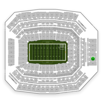 Indianapolis Colts at Lucas Oil Stadium Section 628 View