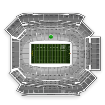 NFL at Lucas Oil Stadium Section 113 View