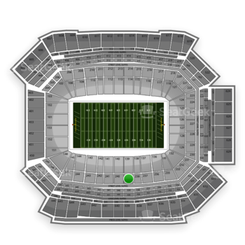 NFL at Lucas Oil Stadium Section 239 View
