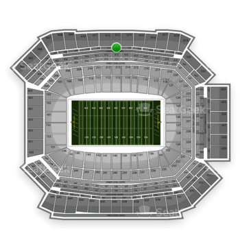 NFL at Lucas Oil Stadium Section 513 View