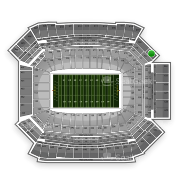 NFL at Lucas Oil Stadium Section 522 View