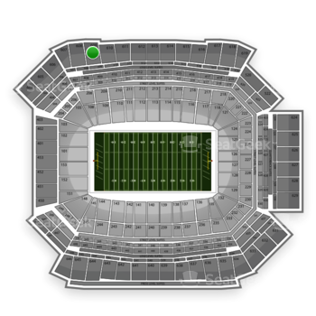 NFL at Lucas Oil Stadium Section 609 View