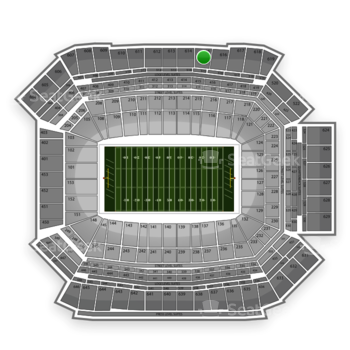 NFL at Lucas Oil Stadium Section 615 View