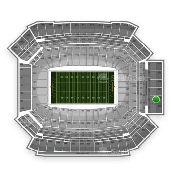 NFL at Lucas Oil Stadium Section 628 View