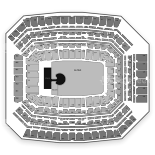 Lucas Oil Stadium Seating Chart Concert