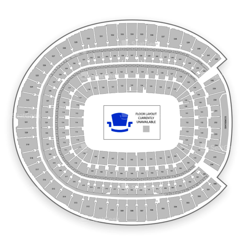Lovely Fedex Field Seating Diagram