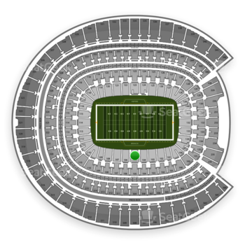 Denver Broncos at Sports Authority Field at Mile High Section 105 View