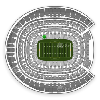 Denver Broncos at Sports Authority Field at Mile High Section 120 View