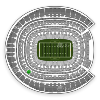 Denver Broncos at Sports Authority Field at Mile High Section 317 View