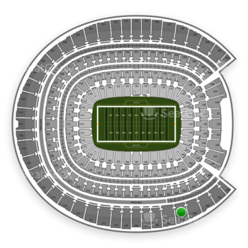 Denver Broncos at Sports Authority Field at Mile High Section 504 View