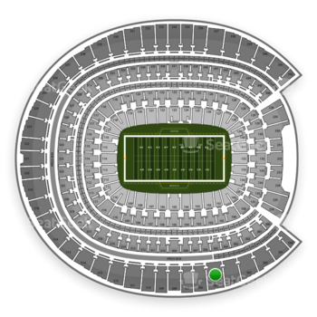 Denver Broncos at Sports Authority Field at Mile High Section 505 View