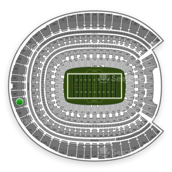 Denver Broncos at Sports Authority Field at Mile High Section 519 View