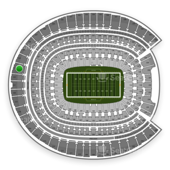 Denver Broncos at Sports Authority Field at Mile High Section 523 View