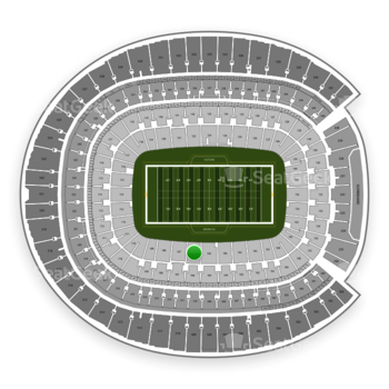 Denver Broncos at Sports Authority Field at Mile High Section 106 View