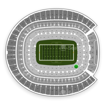 Denver Broncos at Sports Authority Field at Mile High Section 100 View