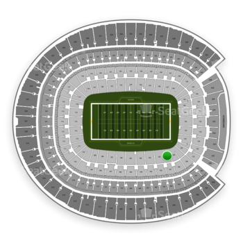 Denver Broncos at Sports Authority Field at Mile High Section 101 View