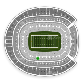 Denver Broncos at Sports Authority Field at Mile High Section 107 View