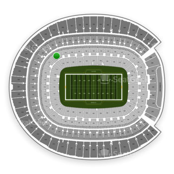 Denver Broncos at Sports Authority Field at Mile High Section 118 View