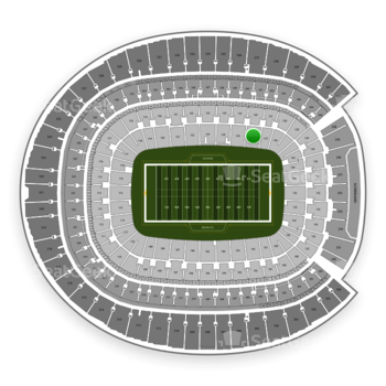 Denver Broncos at Sports Authority Field at Mile High Section 126 View