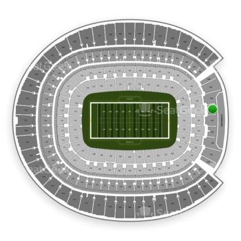 Denver Broncos at Sports Authority Field at Mile High Section 231 View