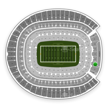 Denver Broncos at Sports Authority Field at Mile High Section 234 View