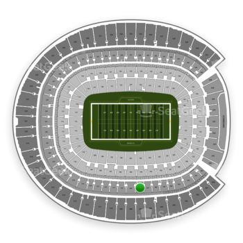 Denver Broncos at Sports Authority Field at Mile High Section 308 View