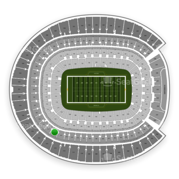 Denver Broncos at Sports Authority Field at Mile High Section 316 View