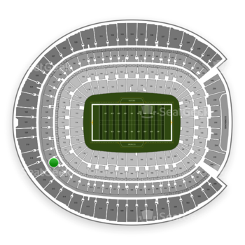 Denver Broncos at Sports Authority Field at Mile High Section 319 View