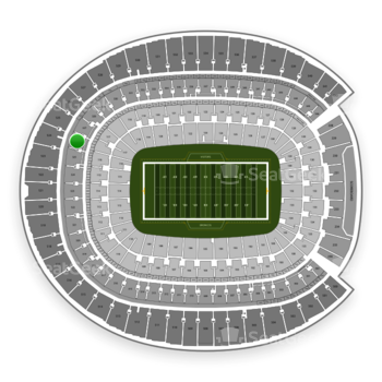 Denver Broncos at Sports Authority Field at Mile High Section 326 View