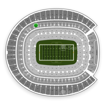 Denver Broncos at Sports Authority Field at Mile High Section 331 View
