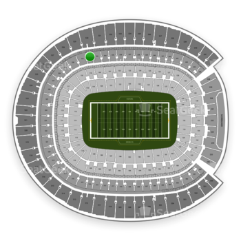 Denver Broncos at Sports Authority Field at Mile High Section 332 View