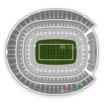 Denver Broncos at Sports Authority Field at Mile High Section 503 View