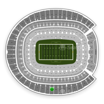 Denver Broncos at Sports Authority Field at Mile High Section 509 View