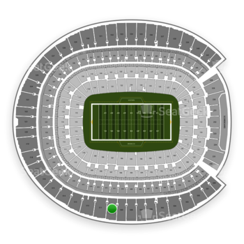 Denver Broncos at Sports Authority Field at Mile High Section 510 View