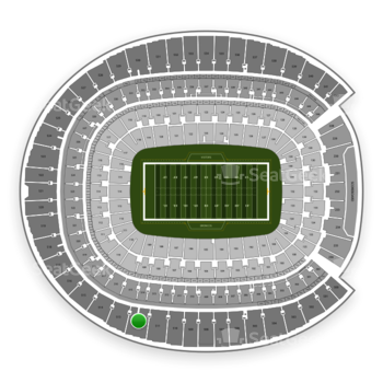 Denver Broncos at Sports Authority Field at Mile High Section 512 View
