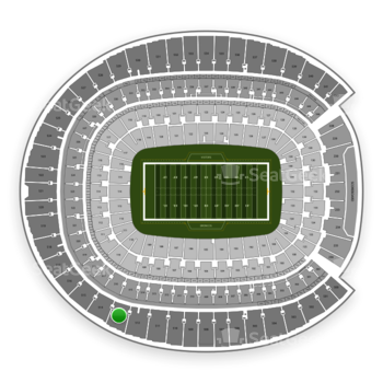 Denver Broncos at Sports Authority Field at Mile High Section 513 View