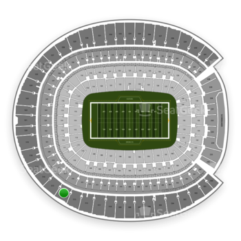 Denver Broncos at Sports Authority Field at Mile High Section 514 View