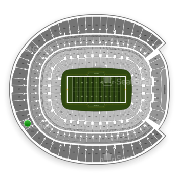 Denver Broncos at Sports Authority Field at Mile High Section 517 View