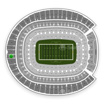 Denver Broncos at Sports Authority Field at Mile High Section 520 View