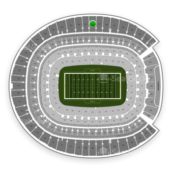 Denver Broncos at Sports Authority Field at Mile High Section 534 View